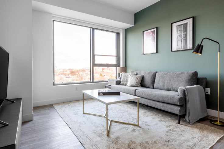 1 bedroom furnished apartment in Pelham Hall, 1284 Beacon St 480, Brookline, Boston, photo 1