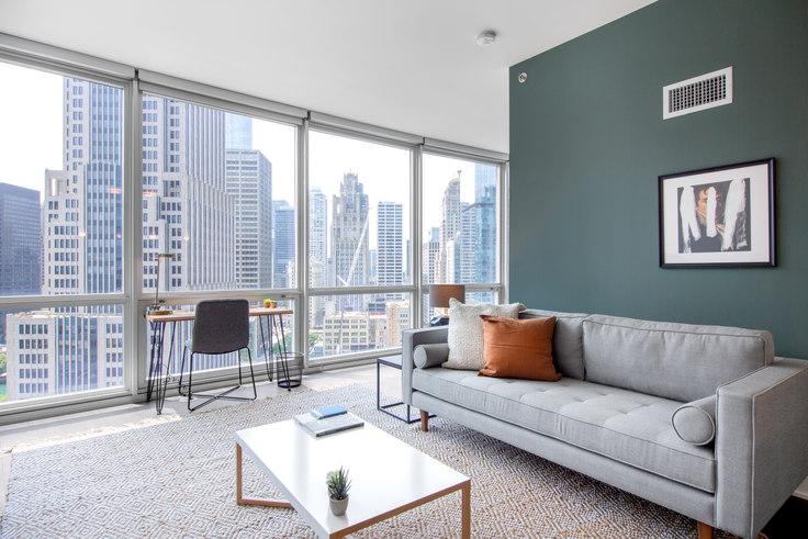 1 bedroom furnished apartment in Noca Blu, 2340 N California Ave 479, Logan Square, Chicago, photo 1