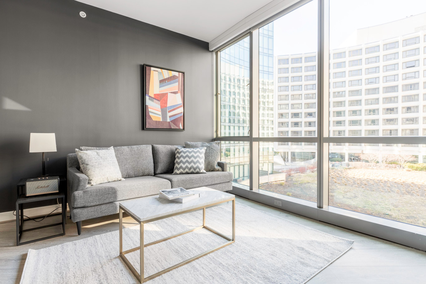 Studio furnished apartment in Crossing, 949 First St SE 300, Navy Yard, Washington D.C., photo 1